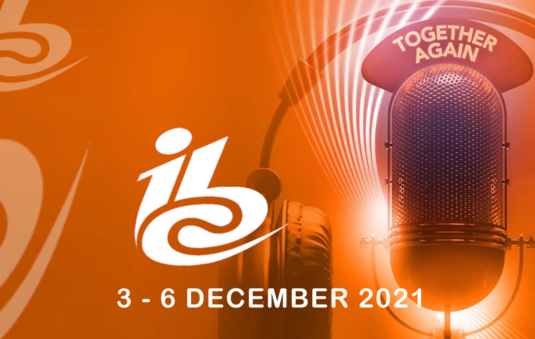 IBC 2021 Amsterdam: We are on the spot