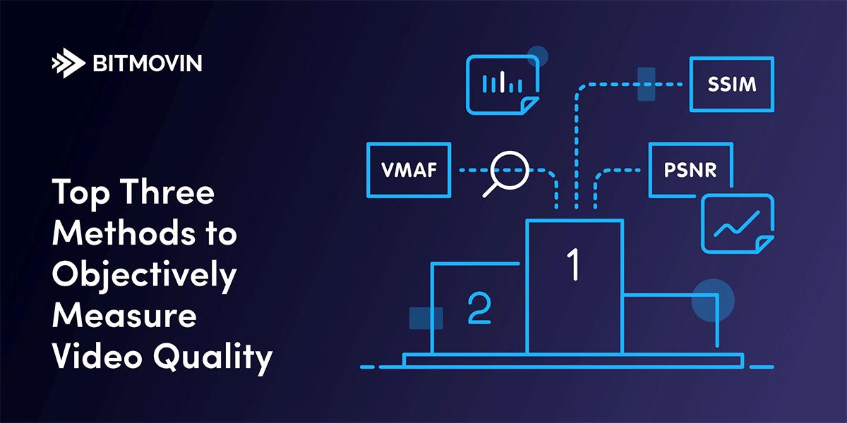 3 (plus eine) Top Methoden zur objektiven Messung der Videoqualität