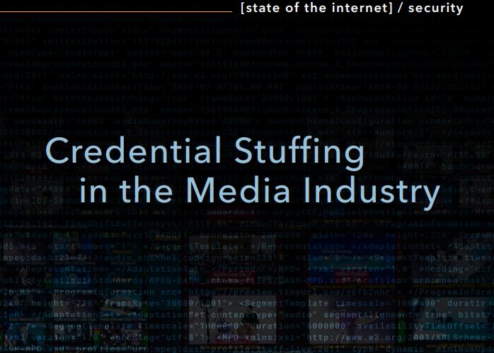 Attacken auf dieMedien-Branche: Credential Stuffing