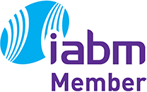 Logo: IABM -International Association for Broadcast & Media Technology Suppliers